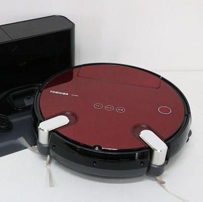 東芝 | ロボット掃除機 トルネオ ロボ VC-RVD1(R) | 中古買取価格:6,000円