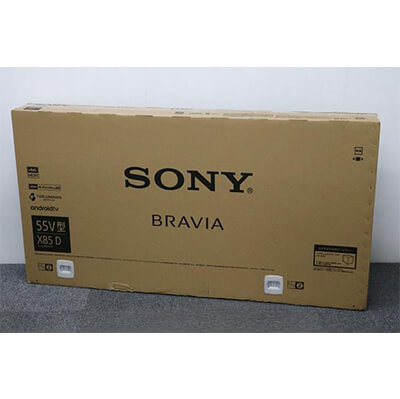 SONY | KJ-55X8500D ブラック | 中古買取価格:109,000円